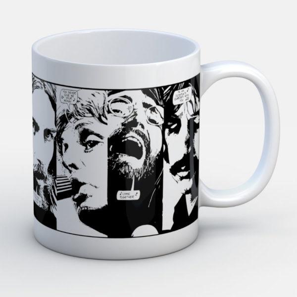 Beatles Inmortales - Jarro de cerámica personalizado