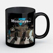 Beatles Inmortales Meme Lunes - Jarro de cerámica personalizado