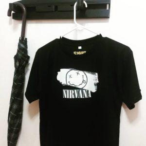 Camiseta personalizada Nirvana